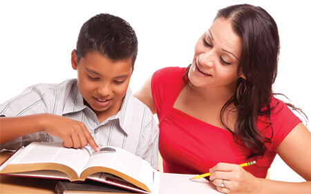 What can do as a parent to support your child during boards