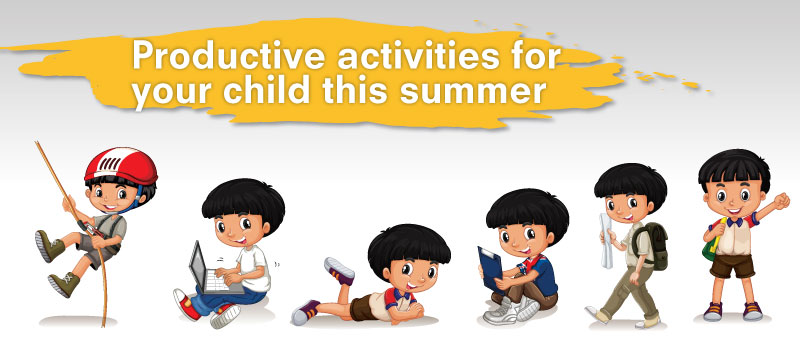 9 Productive activities for your child this summer