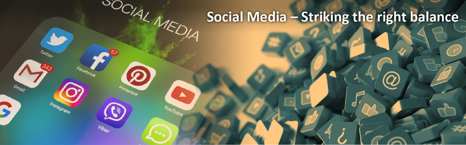 Social Media – Striking the right balance