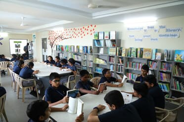 CGR INTERNATIONAL SCHOOL - Library/Resource Centre